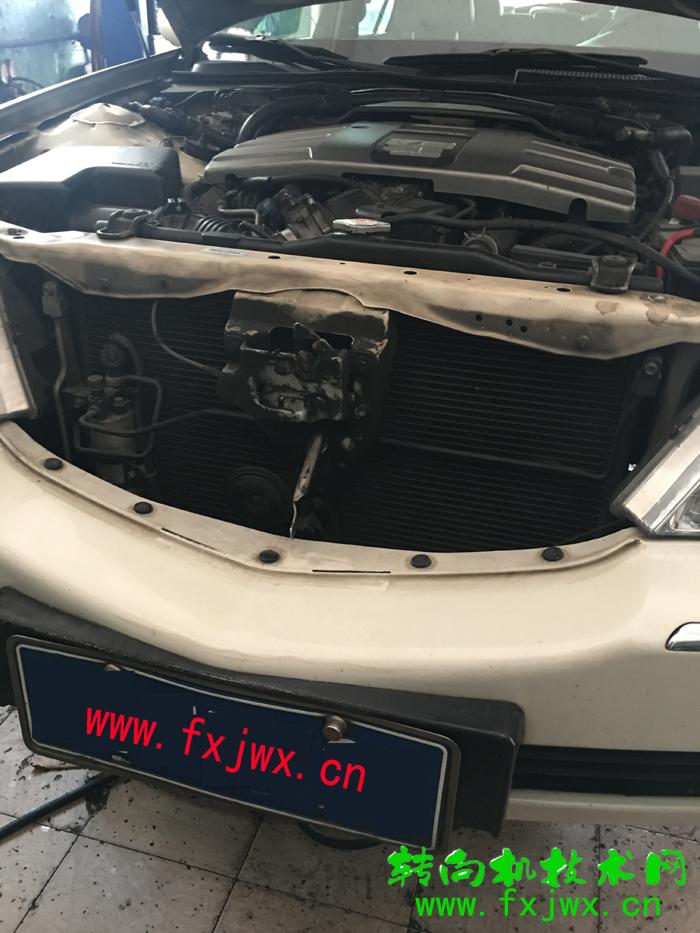 本田里程KA9方向机漏油维修
