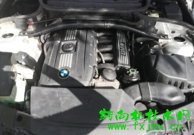 宝马X3方向机漏油维修